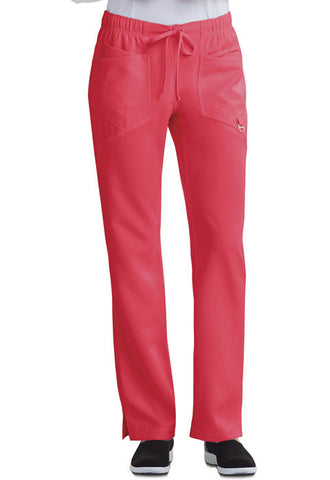 Careisma Low Rise Straight Leg Drawstring Pant CA105A Icy Coral ICCC