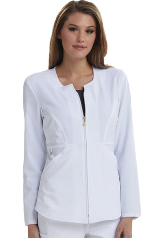 Careisma Zip Front Jacket CA300 White WHT