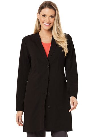 "Careisma 33"" Lab Coat CA306 Black BABK"