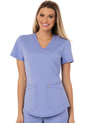 Careisma Mock Wrap Top CA610A Ciel CIE