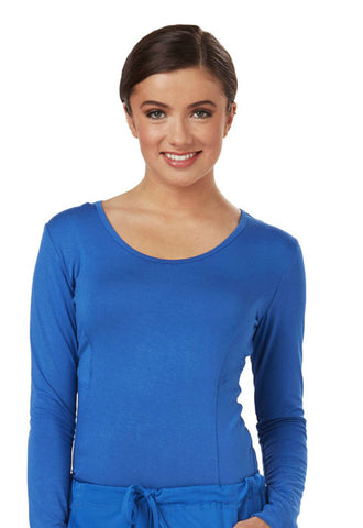 Careisma Long Sleeve Underscrub Knit Tee CA612A Royal RYPS