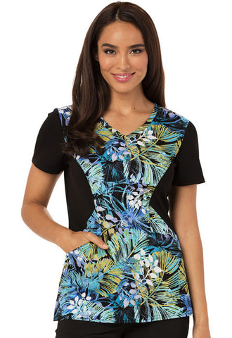 Careisma V-Neck Top CA613 So Frond of You SFND