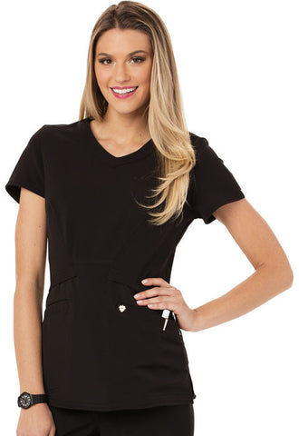 Careisma V-Neck Top CA618A Black BLK