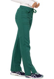 Code Happy Mid Rise Moderate Flare Leg Pant CH000A Hunter Green HUN