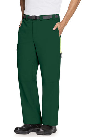 Code Happy Men's Zip Fly Front Pant CH205A Hunter Green HNCH