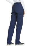 Cherokee Mid Rise Straight Leg Pull-on Pant  Tall CK003T Navy NAVV