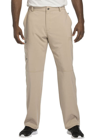 Cherokee Men's Fly Front Pant  Tall CK200AT Khaki KAK