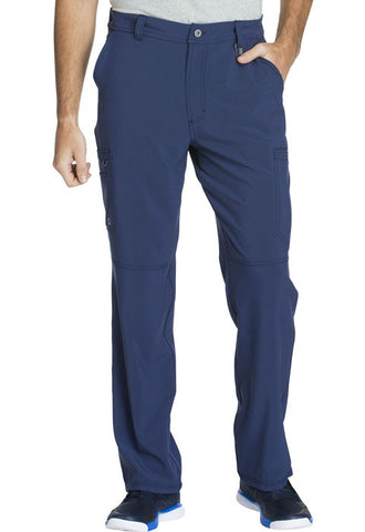 Cherokee Men's Fly Front Pant  Tall CK200AT Navy NYPS