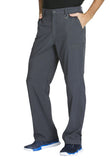 Cherokee Men's Fly Front Pant  Tall CK200AT Pewter PWPS