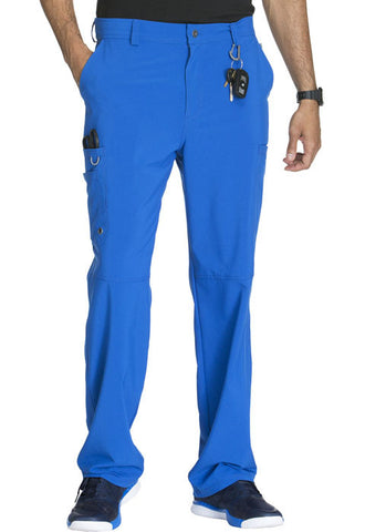 Cherokee Men's Fly Front Pant  Tall CK200AT Royal RYPS