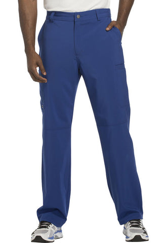 Cherokee Men's Fly Front Pant CK200A Galaxy Blue GAB