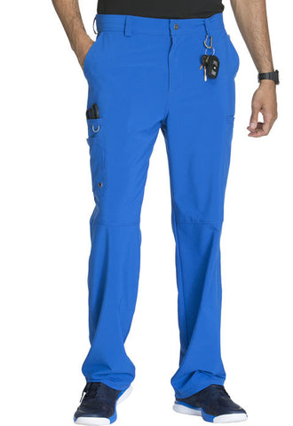 Cherokee Men's Fly Front Pant CK200A Royal RYPS