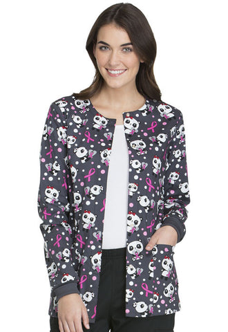 Cherokee Snap Front Warm-up Jacket CK301 Beary Caring BBCA