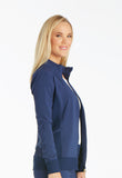 Cherokee Zip Front Warm-Up Jacket CK303 Navy NAV
