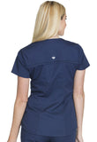 Cherokee Mock Wrap Top CK603 Navy NAVV