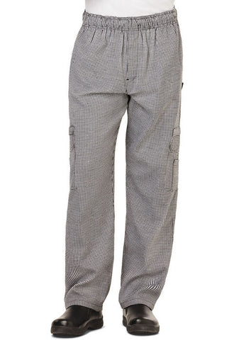 Dickies Chef Men's 5 Pocket Cargo Pant DC10 Houndstooth HDTH