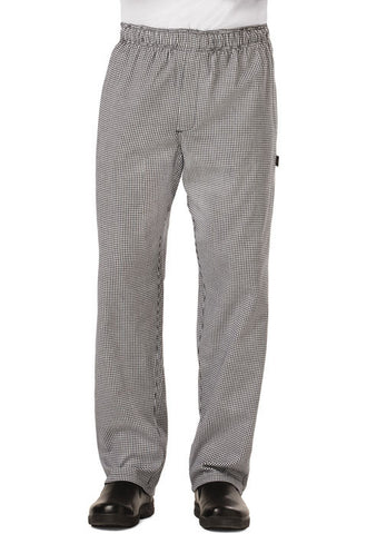 Dickies Chef Men's Traditional Baggy Zipper Fly Pant DC14 Houndstooth HDTH