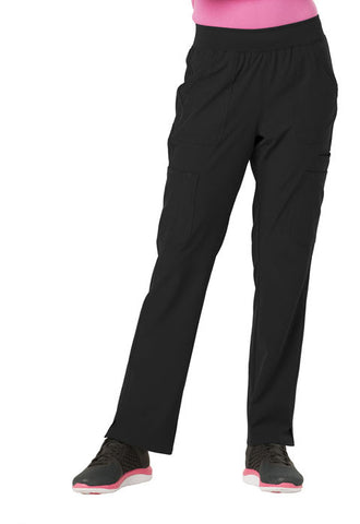"HeartSoul ""Drawn To Love"" Low Rise Cargo Pant  Petite HS020P Black BCKH"