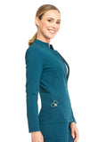 "Sapphire ""Melrose"" Notched Jacket SA300A Caribbean Blue CAR"