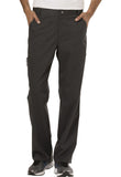 Cherokee Workwear Men's Fly Front Pant  Tall WW140T Pewter PWT