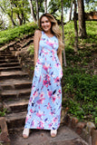 Morning Glory Floral Maxi Dress