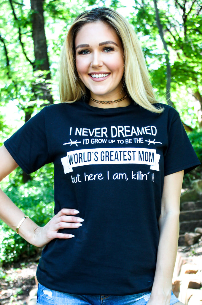 Worlds Greatest Mom Graphic Tee
