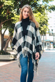 Kade Buffalo Check Poncho