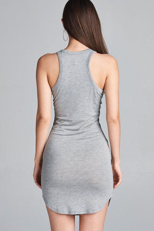 Heather Gray Dress
