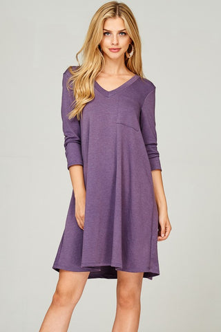 Evangeline V-Neck Dress