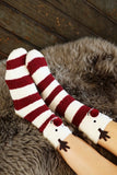 Rudolph Red Nose Socks