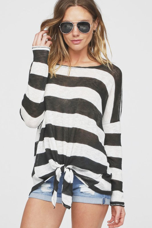 Quanda Striped Top