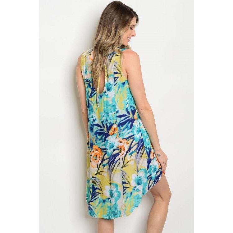 Vacation Vibes Tunic Dress