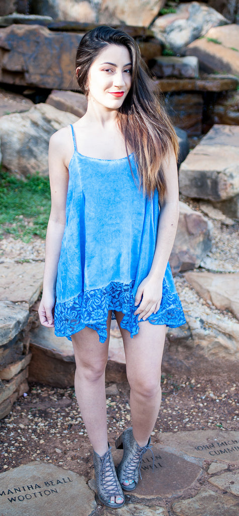 Acid Wash Tank Top