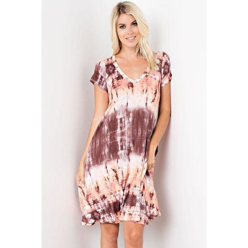 Dresses - Evangeline V-Neck Dress