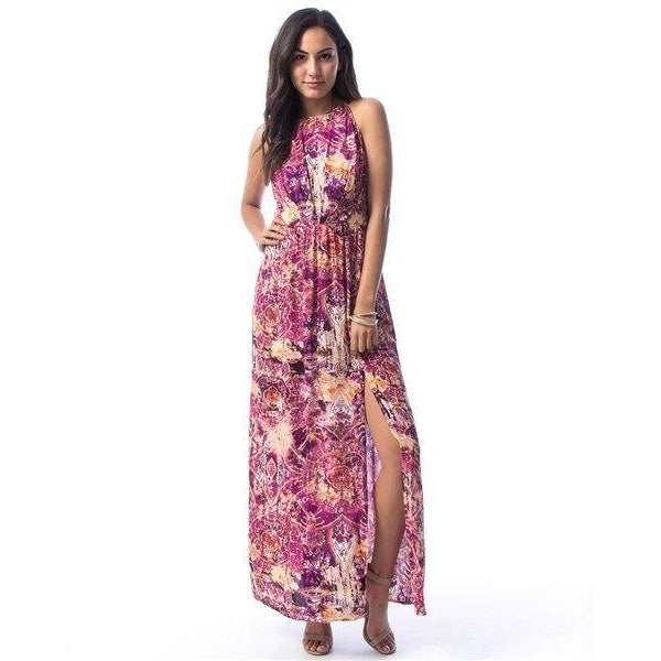 Dresses - Jamari Slit Maxi Dress