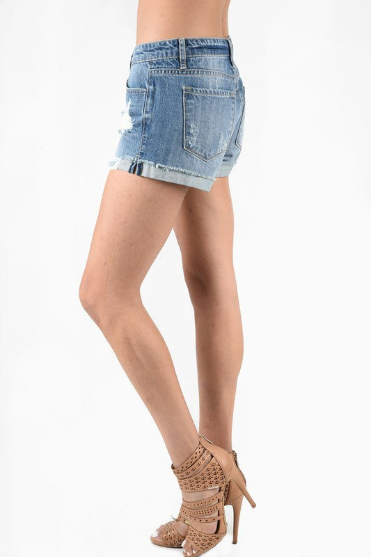 Eden Denim Jean Shorts