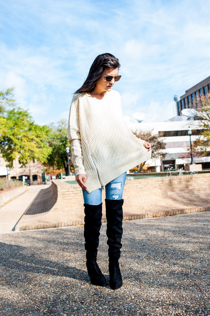 Light Taupe Sweater