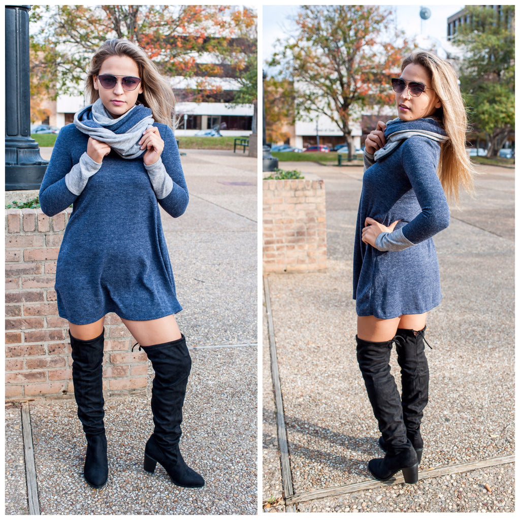 Eden Color block Tunic