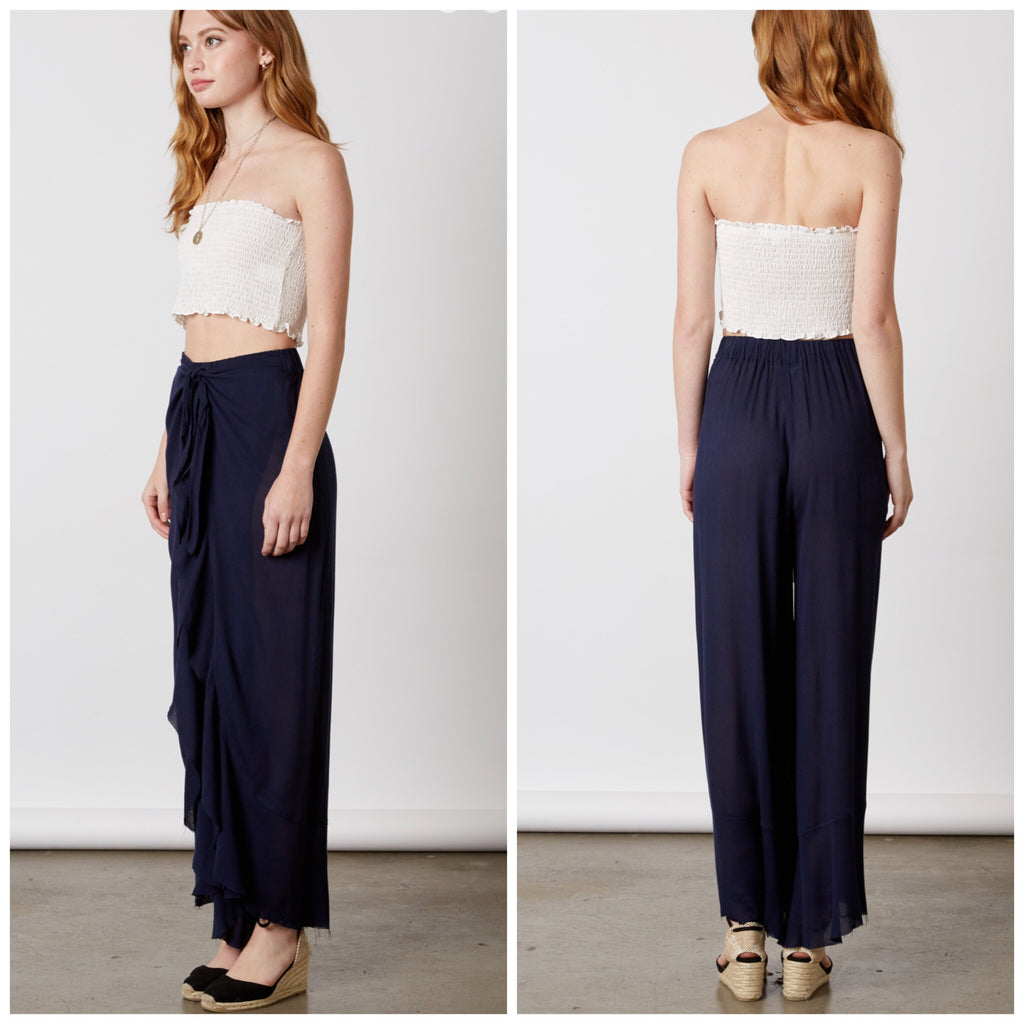 Wicked Attraction Navy Pants