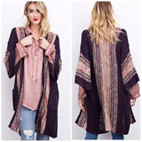 Gorgeous purple cardigan