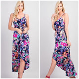 Summer Love Floral Maxi Dress