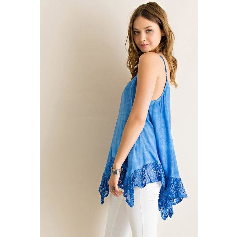 Lace Tank Top For Women