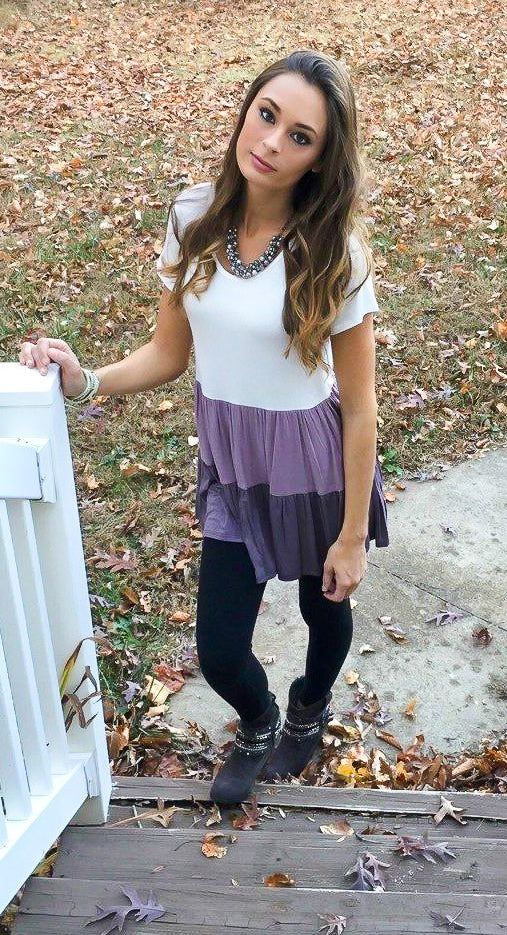 Kaia Ruffled Top