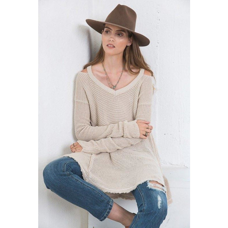 Tops - Stone Sweater Top