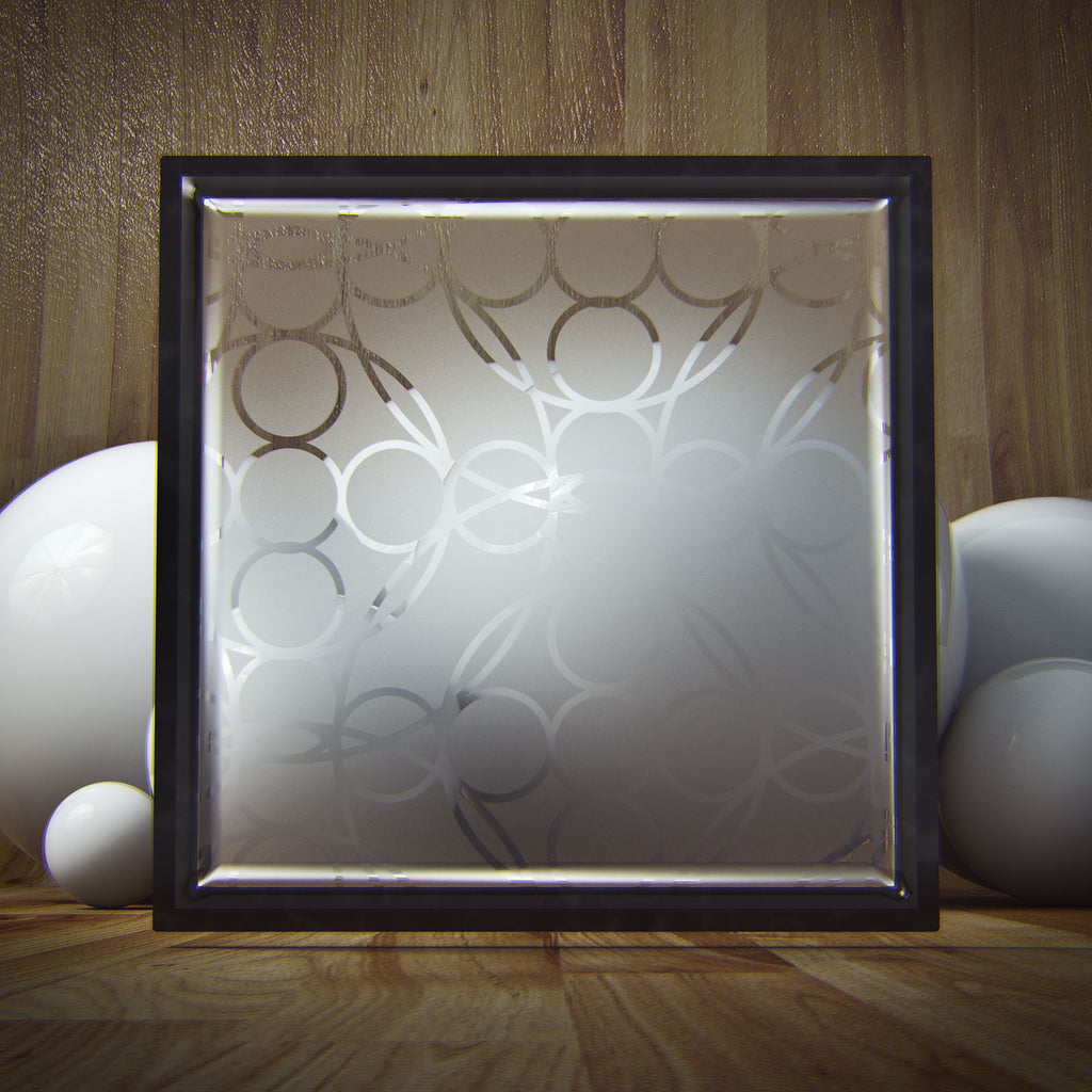Frame in a Room with Spheres