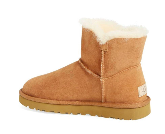 38d2f3cdc22 UGG Women s Mini Bailey Button II Boots - CHESTNUT - SALE - First Clothing