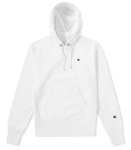 a569b6e19c1b Champion Reverse Weave Classic Hoodie - White - First Clothing
