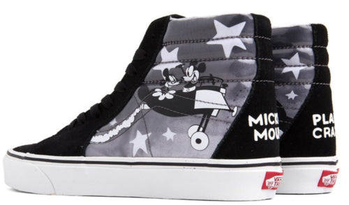 9230bcc622c974 Vans Men Disney 90th AU Mickey s Plane Crazy Sk8-Hi Sneakers