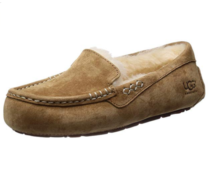 496924883b7 UGG Women's Ansley Moccasin Slipper, Chestnut