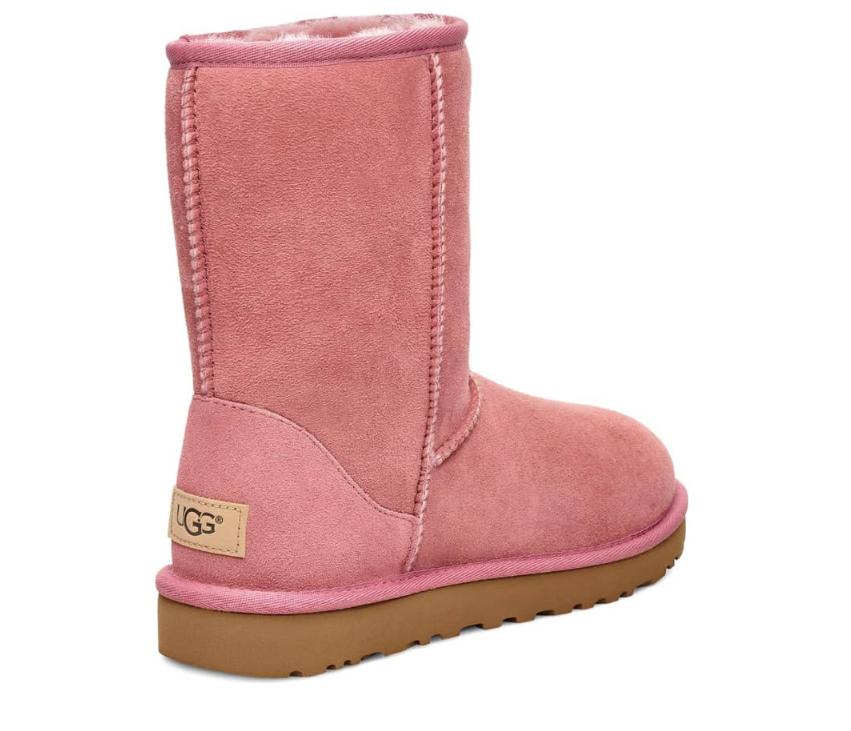 cb411d19fee6e UGG Women's Classic Short II Boot, Pink Dawn Suede - First Clothing
